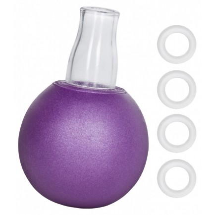 Přísavka na bradavky Nipple Play (fialová)