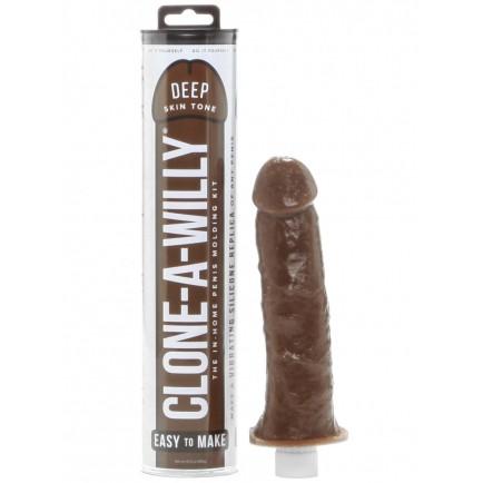 Clone-A-Willy Deep Skin Tone (vibrátor) - sada pro odlitek penisu