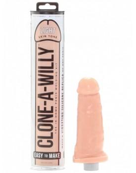 Clone-A-Willy Light Skin Tone (vibrátor) - sada pro odlitek penisu
