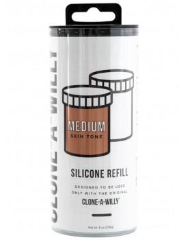 Náhradní silikon pro Clone-A-Willy - karamelový (světle hnědý)