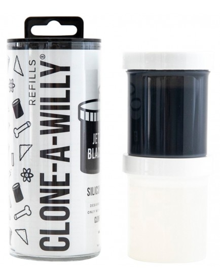 Náhradní silikon pro Clone-A-Willy - černý