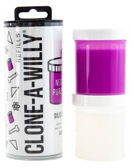 Náhradní silikon pro Clone-A-Willy - fialový