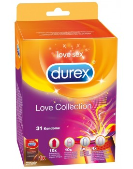 Sada kondomů Love Collection, 31 ks - Durex