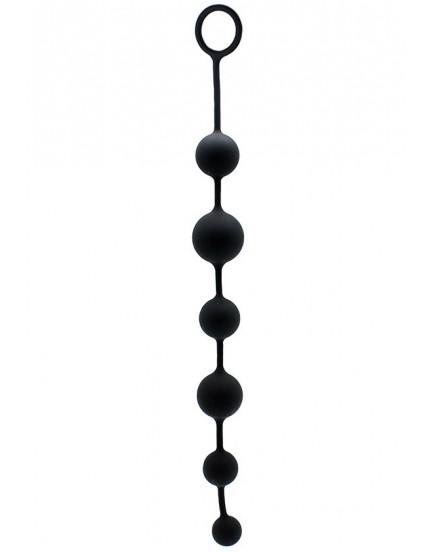 Anální kuličky ze silikonu - Rimba, 40 cm