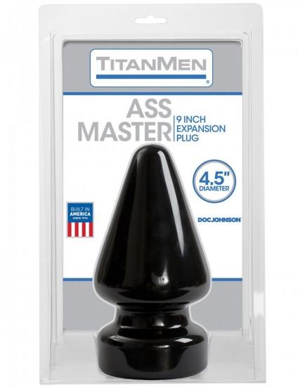 Obrovský anální kolík Titanmen Ass Master - Doc Johnson