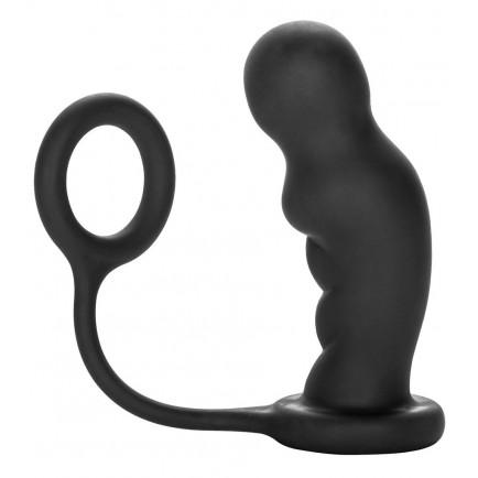 Anální kolík s erekčním kroužkem Commander Probe & Ring - COLT