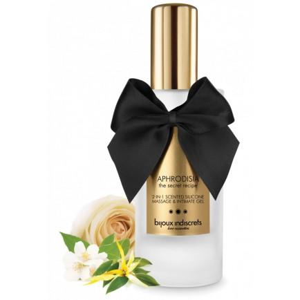 Masážní a intimní gel Aphrodisia 2 v 1 - Bijoux Indiscrets, 100 ml