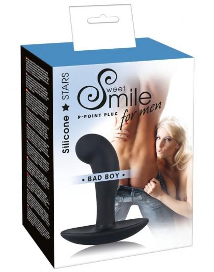 Silikonový stimulátor prostaty Bad Boy - Sweet Smile