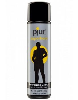 Lubrikační gel Pjur Superhero Energizing Ginkgo - 100 ml