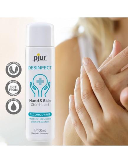 Dezinfekce na ruce a pokožku Pjur Desinfect - 100 ml