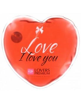 Hřejivé masážní srdíčko I Love You - Lovers Premium