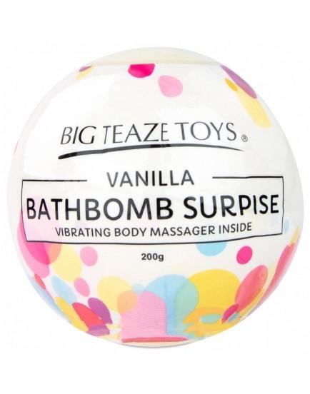 Bomba do koupele s vibrační patronou Surprise - vanilka