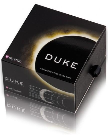 Erekční kroužek z nerezové oceli Duke - MYSTIM