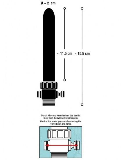 Intimní sprcha Total Splash - nástavec na sprchovou hadici