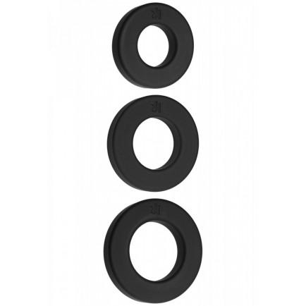 Sada erekčních kroužků Endure - Doc Johnson (3 ks)