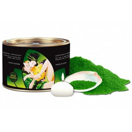 Koupelová sůl Lotus Flower (lotosový květ) - Shunga, 600 g