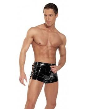 Sexy boxerky se zipem - lack