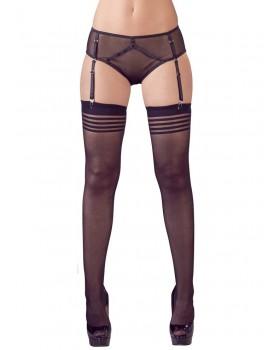 Průsvitné kalhotky s podvazkovými pásky a punčochami - Mandy Mystery