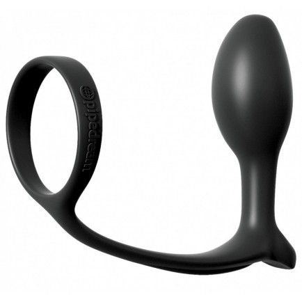 Anální kolík s kroužkem na penis Ass-Gasm Slim Plug - Anal Fantasy