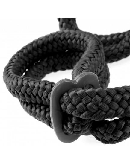 Neobvyklá provazová pouta Silk Rope Love Cuffs
