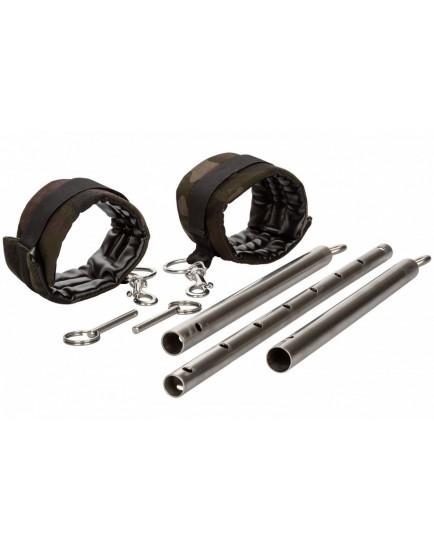 Nastavitelná roztahovací tyč s maskáčovými pouty COLT Camo, 60 - 90 cm