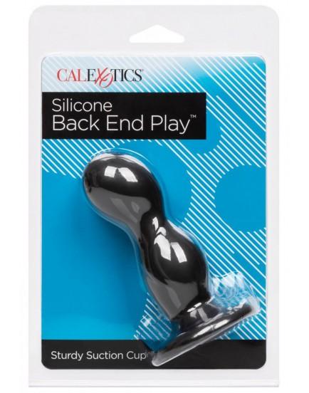 Anální kolík ze silikonu Back End Play (s přísavkou)