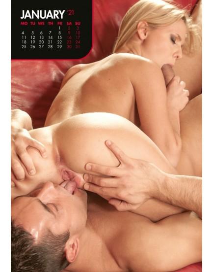 Nástěnný kalendář PORN 2021
