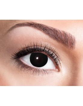 Krycí kontaktní čočky Black Witch (čarodějka)