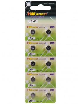 Knoflíková baterie LR41, AG3 (alkalická)