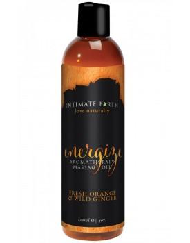 Masážní olej Energize - Intimate Earth (120 ml)