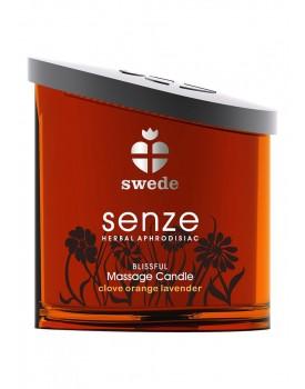 Masážní olejová svíčka Swede Senze Blissful (150 ml)