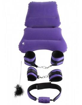 Set BDSM pomůcek Purple Pleasure Bondage Set - Fetish Fantasy