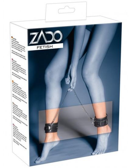 Kožená pouta s řetězem na nohy (Zado)