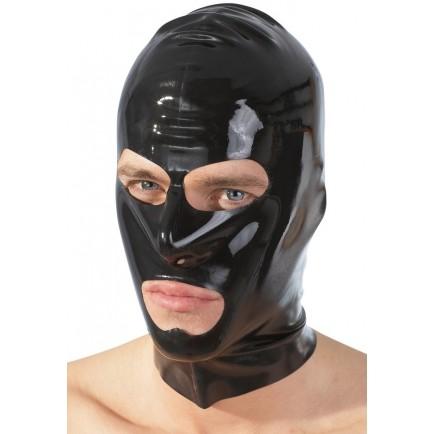 Latexová maska (černá)