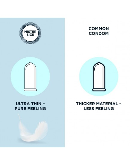 Kondomy MISTER SIZE 64 mm (3 ks)