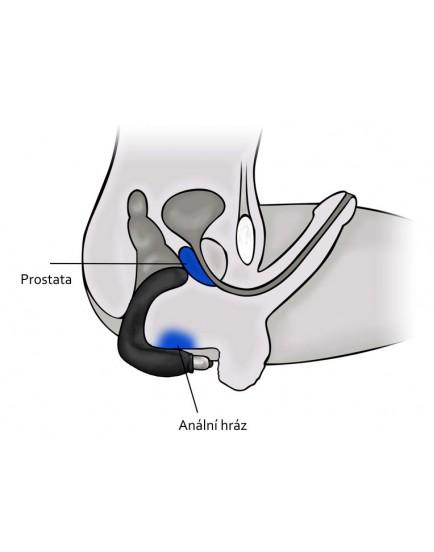 Rocks-Off Bad Boy - vibrátor na masáž prostaty