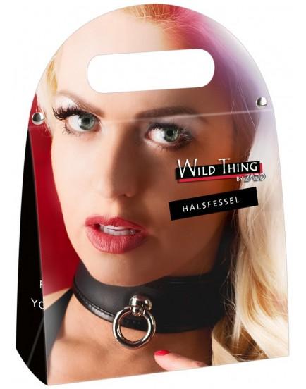 Kožený obojek Zado Wild Thing černý