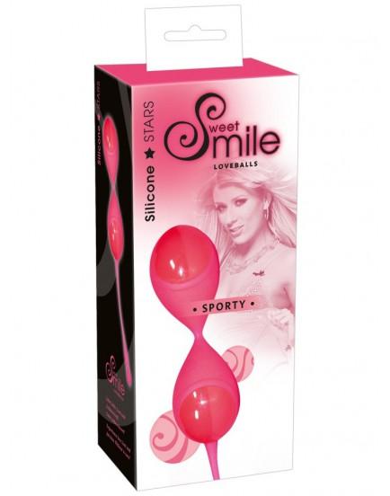 Venušiny kuličky Smile Sporty (růžové)