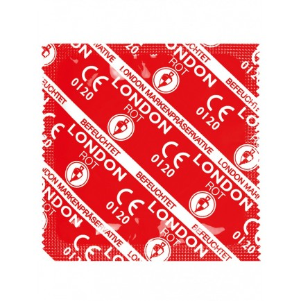 Kondom Durex LONDON - jahodový (1 ks)