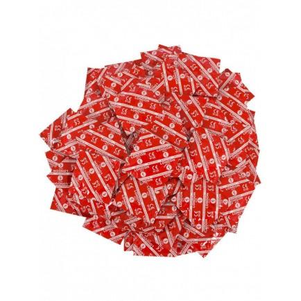 Balíček jahodových kondomů Durex LONDON (45+5 ks zdarma)