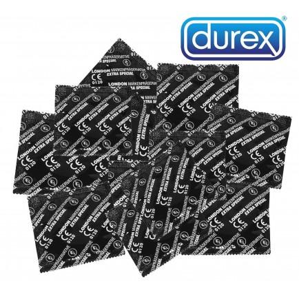Balíček análních kondomů Durex LONDON EXTRA SPECIAL (45+5 ks zdarma)