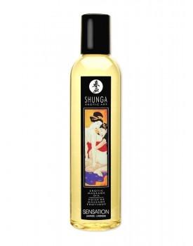 Olej Shunga Sensation levandulový