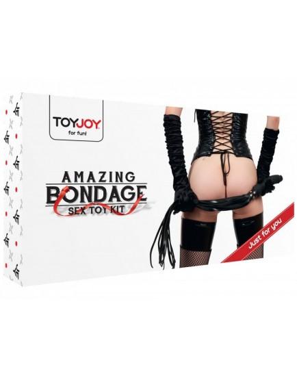 Sada 8 BDSM pomůcek Amazing Bondage Sex Toy Kit
